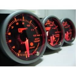Autogauge pakokaasunlämpömittari, elektroninen