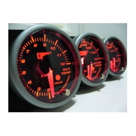 Autogauge bensanpainemittari, elektroninen