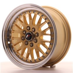 Japan Racing JR10 15x7 ET30 4x100/108 Gold