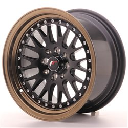 Japan Racing JR10 15x8 ET20 4x100/108 MatBlk BzLip