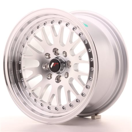 Japan Racing JR10 15x8 ET20 4x100/108 Machined Sil