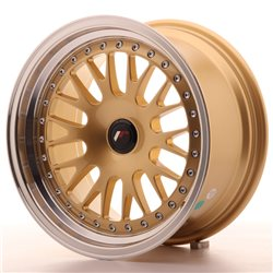 Japan Racing JR10 16x8 ET20 Blank Gold
