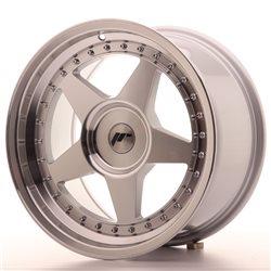 JR Wheels JR6 17x9 ET20-35 BLANK Silver Machined Face
