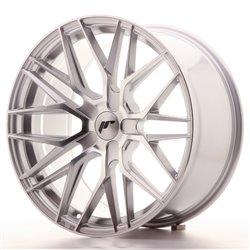 JR Wheels JR28 19x9,5 ET20-40 5H BLANK Silver Machined Face