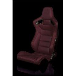 BRAUM Elite Series Sport Penkki - Maroon Leatherette