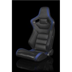 BRAUM Elite Series Sport Penkit - Black and Blue Leatherette