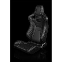 BRAUM Elite-X Series Sport Penkit - Black Diamond (Grey Stitching)