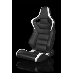 BRAUM Elite Series Sport Penkit - Black and White Leatherette