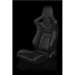 BRAUM Elite-X Series Sport Penkit - Black Leatherette (White Stitching)