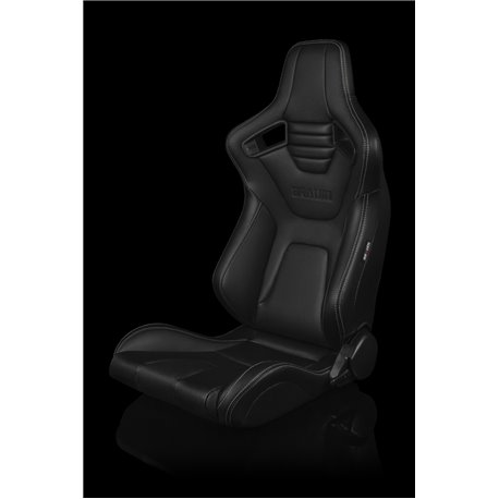 BRAUM Elite-X Series Sport Penkit - Black Leatherette (White Stitching)