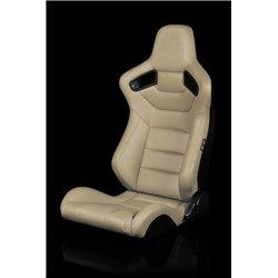 BRAUM Elite Series Sport Penkit - Beige Leatherette