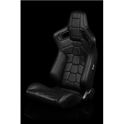 BRAUM Elite-X Series Sport Penkit - Komodo Edition   Black Leatherette (Black Stitching)
