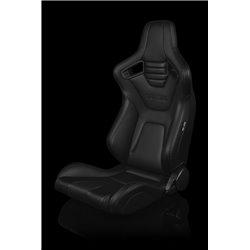 BRAUM Elite-X Series Sport Penkit - Black Leatherette (Black Stitching)