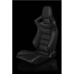BRAUM Elite Series Sport Penkit - Black Leatherette (Black Stitching)