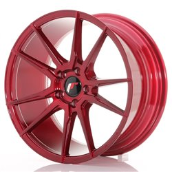 Japan Racing JR21 18x8,5 ET40 5x114,3 Platinum Red
