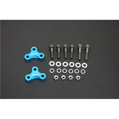 HARDRACE HONDA CIVIC '12- FB RC ADJUSTING SPACER - 2PCS/SET 15MM INCREASE