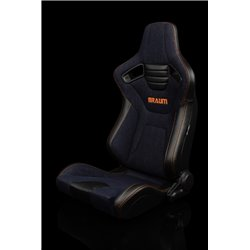 BRAUM Elite-X Series Sport Penkit - Navy Denim Orange Stitching