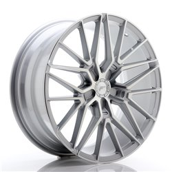 JR Wheels JR38 20x8,5 ET20-45 5H BLANK Silver Machined Face