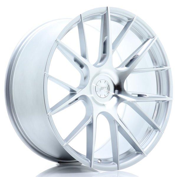 JR-Wheels JR42 22x11,5 ET20-52 5H BLANK Silver Machined Face