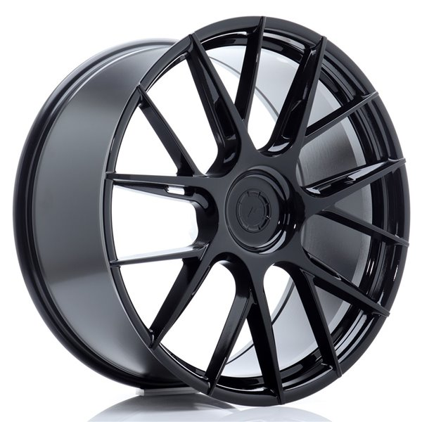 JR-Wheels JR42 22x9 ET20-42 5H BLANK Gloss Black