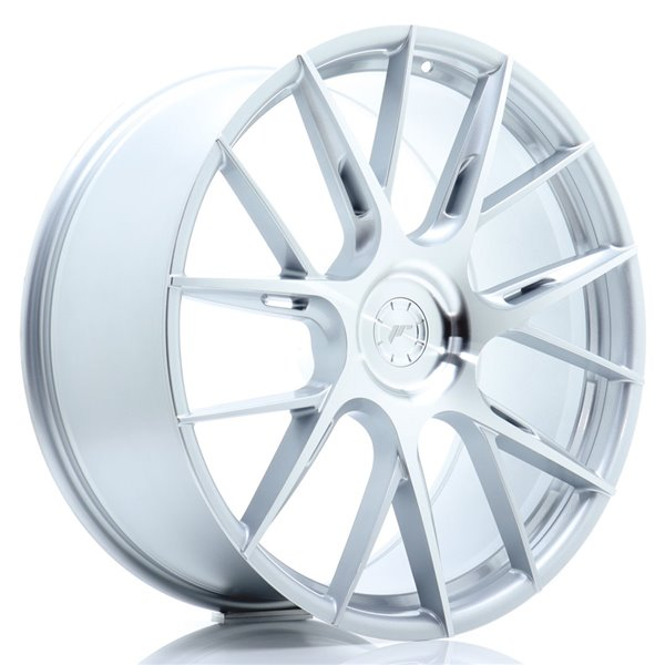 JR-Wheels JR42 22x9 ET20-42 5H BLANK Silver Machined Face