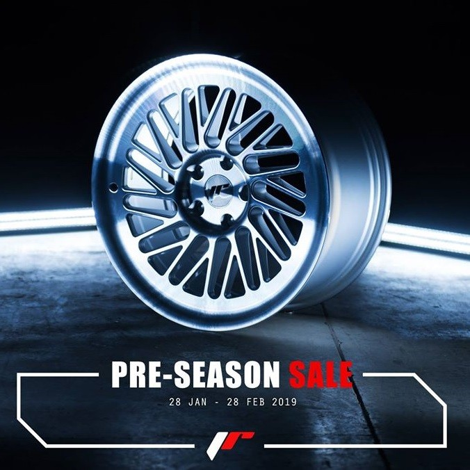 Japan Racing Pre-Season alennukset!